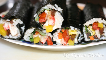 Tuna Rolls (Chamchi Kimbap in Korean)3