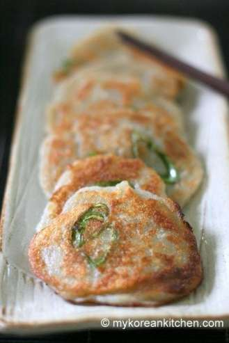 Korean Potato Pancakes (Gamja Jeon) 1
