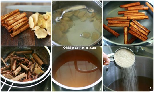 How to Make SuJeongGwa (Korean Cinnamon Punch)