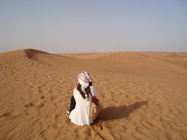 Στην έρημο!