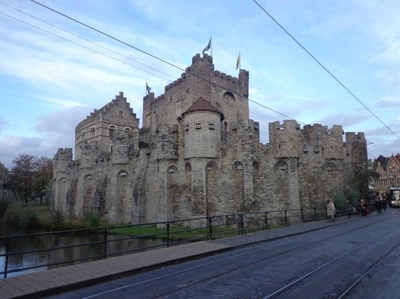 Castle of the Counts, Γάνδη