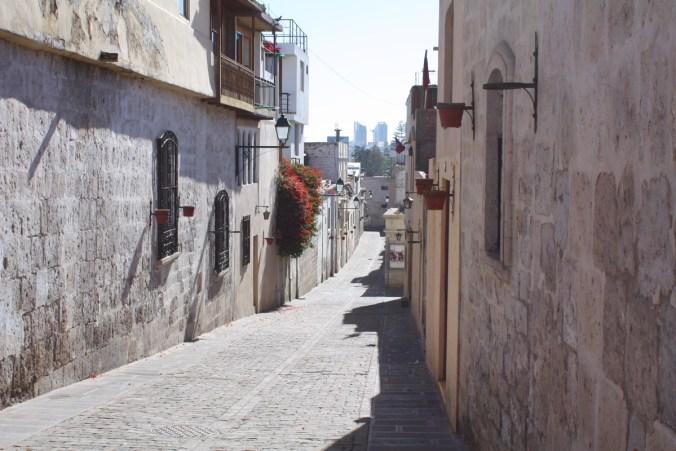 Straßenansicht, Arequipa