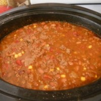 Delicious Crock Pot Chili