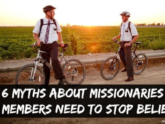 """From """"Good missionaries baptize"""" to """"Sisters are better than Elders"""" there are a lot of myths about missionaries, here are 6 myths members need to stop believing"""