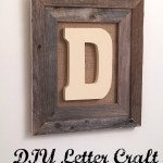 DIY Letter Craft