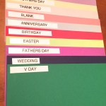 Greeting Card Organization