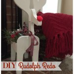 DIY Rudolph Redo