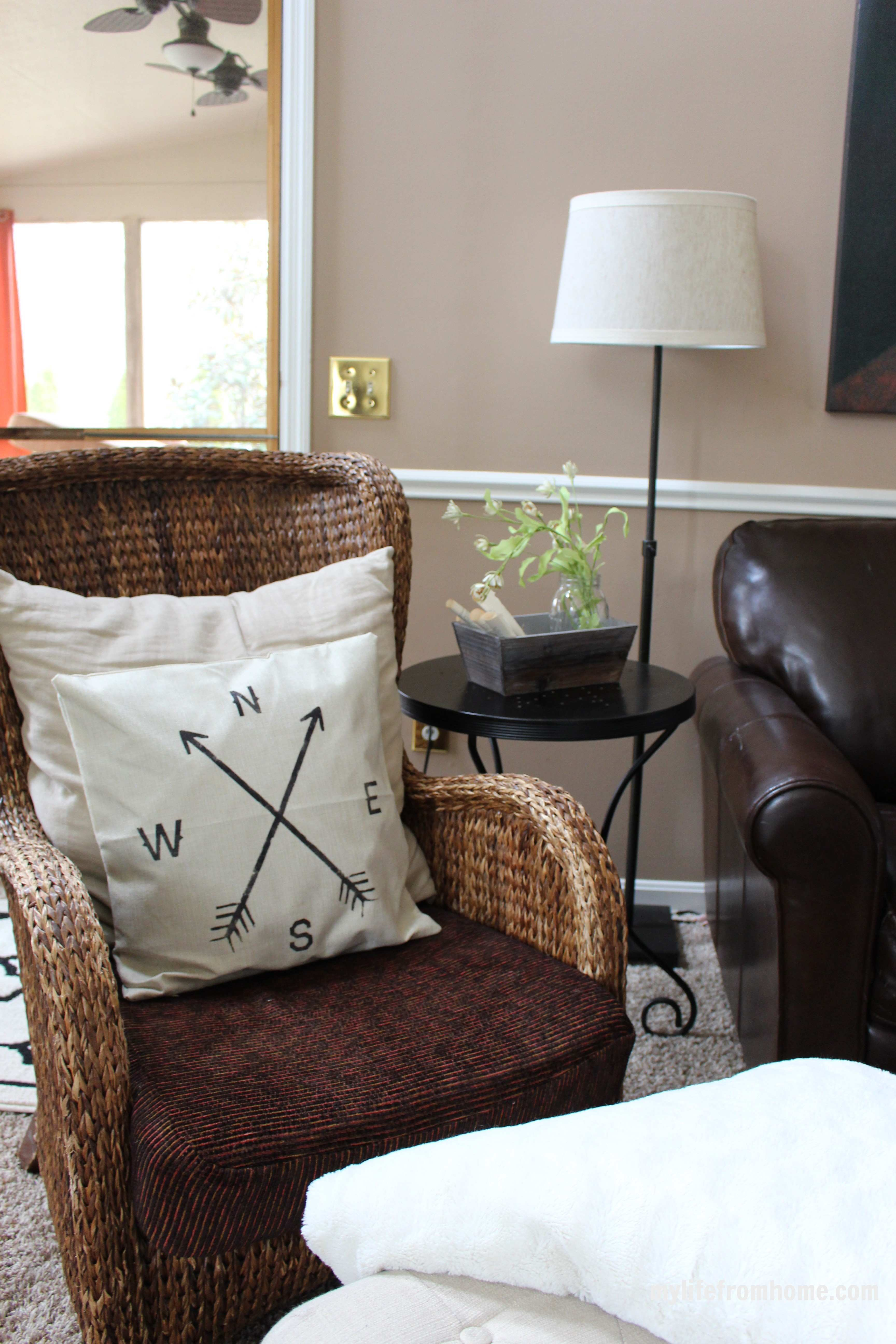 Spring Home Tour by www.mylifefromhome.com