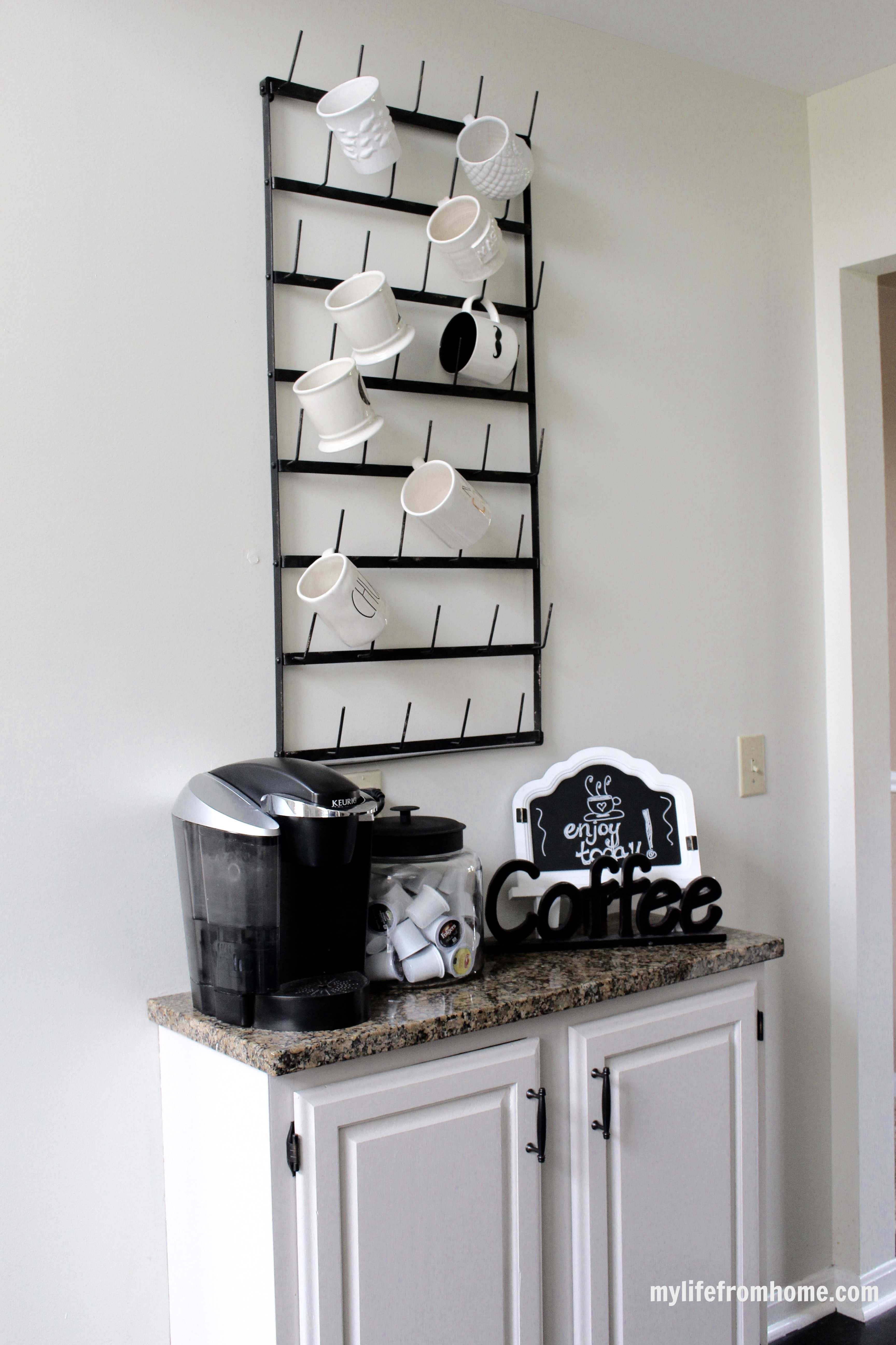 Coffee Bar Station by www.mylifefromhome.com