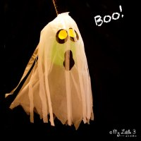 Halloween Party Ideas - Giant Floating Ghost Craft