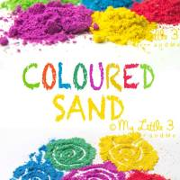 How To Make Coloured Sand