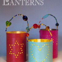 Homemade Gifts - Tin Can Lanterns