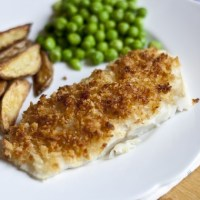 Easy Crispy Baked Cod