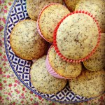 lemon & poppyseed muffins
