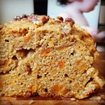 maple sweet potato loaf