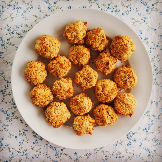 apricot coconut breakfast cookies