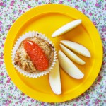wholemeal grapefruit & coconut muffins