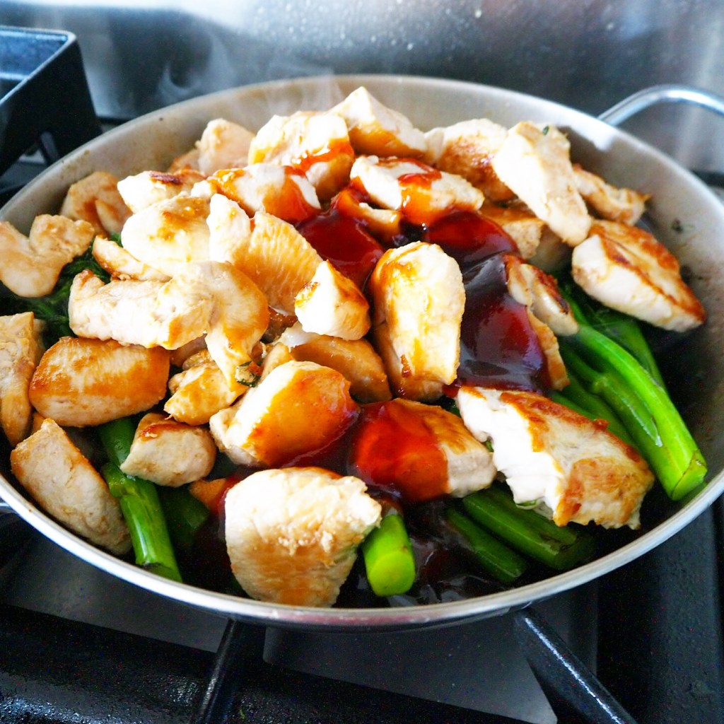 4 ingredient stir fry supper