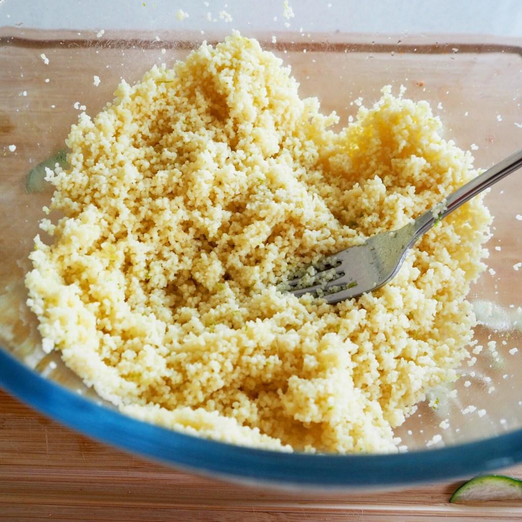 sumac lamb & feta couscous salad
