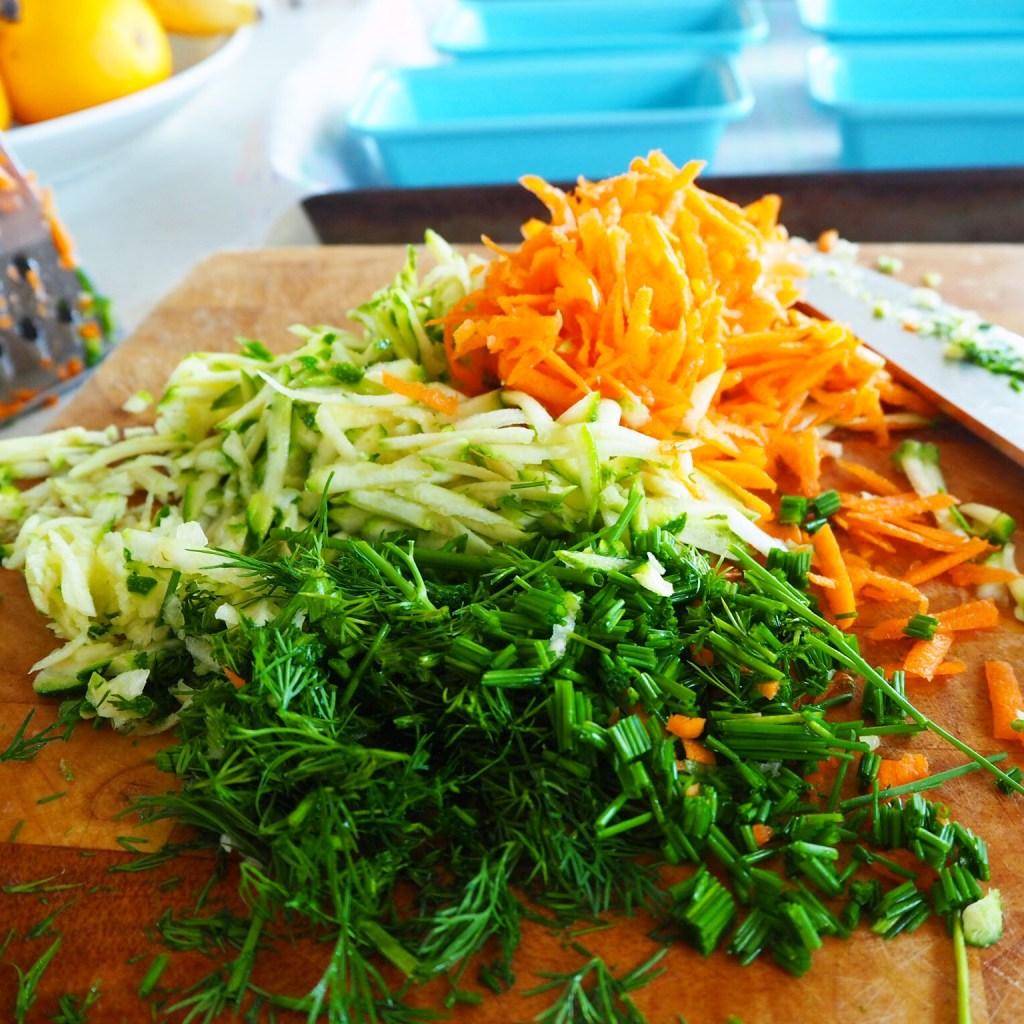 mini vegetable loaves