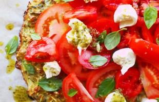 zucchini base pizza's