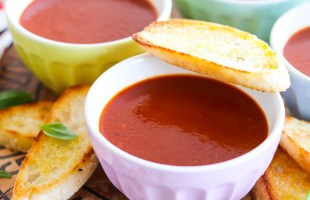 ten minute tomato soup