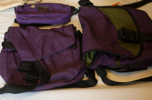 Three Tom Bihn bags