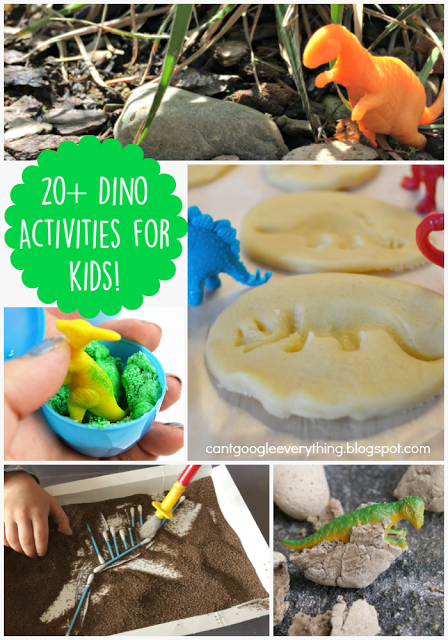 20+ Dinosaur Activities for Kids!