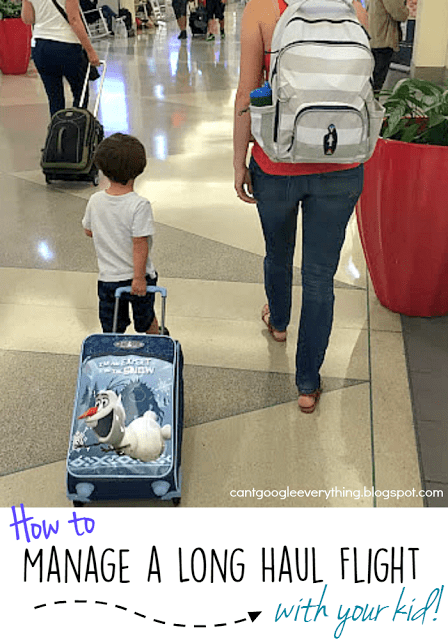How To: Manage a Long Haul Flight with Your Kid!