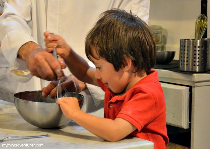 gelato mixing