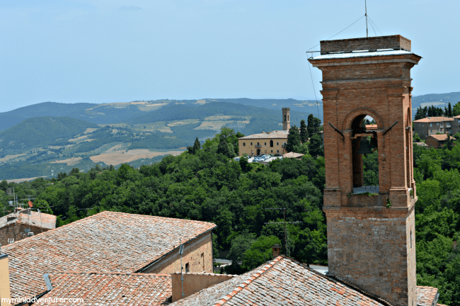 Volterra Bell Tower
