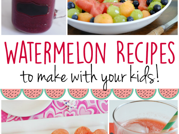 Watermelon Recipes to Make with Your Kids This Summer