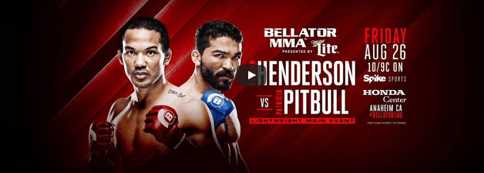 WATCH:  Bellator 160 weigh-ins – Thursday, 3pm EST, 12 pm PST