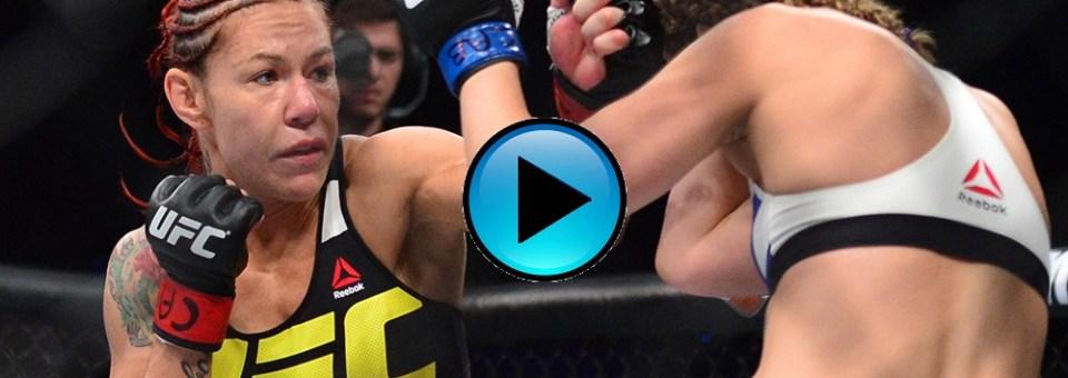 #FreeFightFriday – Watch Cyborg pummel Leslie Smith in UFC debut