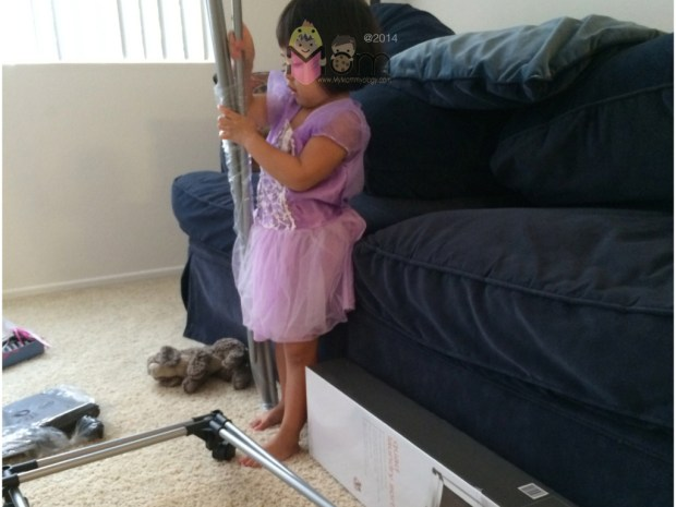 Even Princesses are put to work too. ;)
