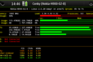 Nokia N900 Overclocked to 1GHz!!!