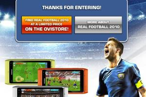 Win a Nokia N8 With Gameloft and Real Football 2010