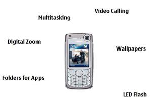 Nokia 6680: I am from the future.
