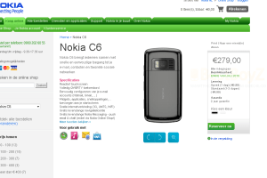 New Nokia C6-01, C6 with 8MP camera and Dual LED flash