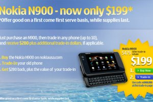 Nokia N900 for just $199, limited period offer in Nokia USA website