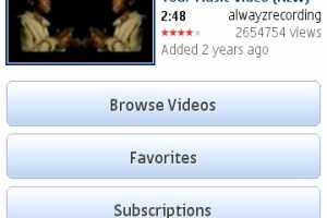 Official YouTube App available for Symbian^3