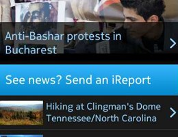 New CNN App for Symbian^3! Nokia and CNN collaborate to deliver mobile news and rich mapping!