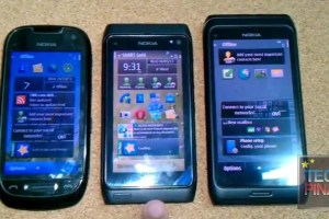 Video: Comparison between Nokia C7, Nokia N8 and Nokia E7