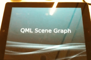 Video: Qt 5.0 Scene Graph demo running on iPad 2