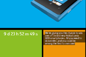 Win A Nokia Lumia 800 From the Nokia Facebook Page