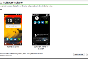 Nokia Store Gets Nosy About What Version of S^3 Your Phone is Running.