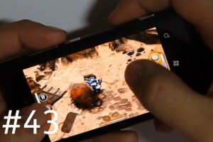 Lumiappaday #43: The Harvest demoed on the Nokia Lumia 800