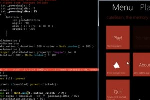 "Video: WP7 style ""plate animation"" in QML"