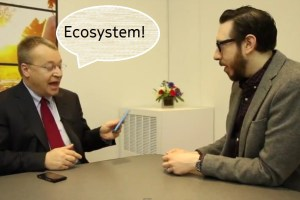 Stephen Elop with Josh Topolsky: Elements of Symbian and MeeGo to come to Windows Phone? Qt, camera, Swipe gestures?