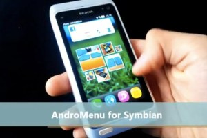 SymbianApps: AndroMenu for Symbian on Nokia N8